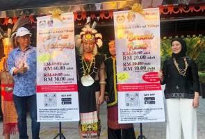 Potongan bayaran masuk 33 peratus ke Kampung Budaya Sarawak 3