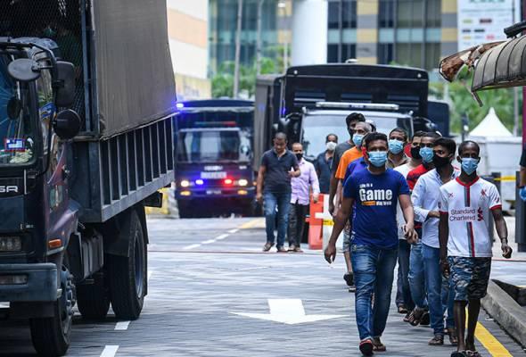 Kutipan denda ingkar PKP hampir RM6 juta
