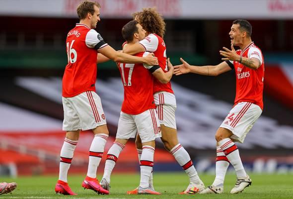 Peluang Arsenal tempah slot Liga Juara-Juara Eropah musim depan