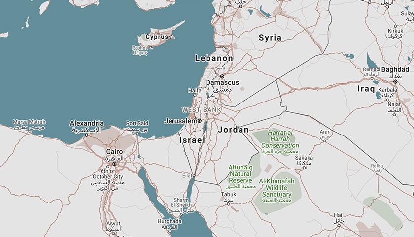 Status yang tular itu mendakwa negara Palestin telah 'dihapuskan' baik dalam Google Maps atau Apple Maps.