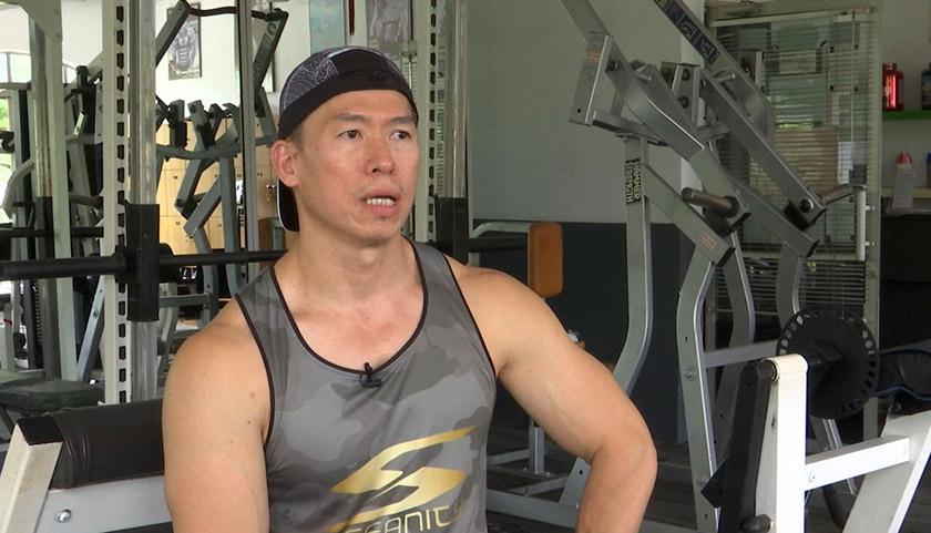 Pengasas Muscle Up Fitness and Gym, Ray Leow Kok Wah. - Astro AWANI