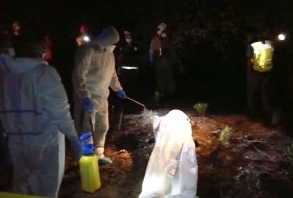 Polis sahkan identiti mayat ditemui hampir reput dalam parit