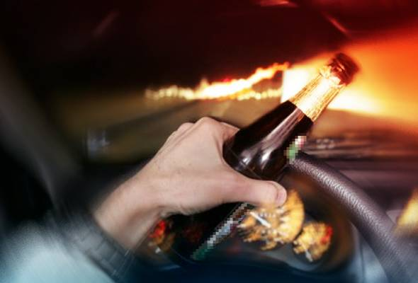 Pemandu mabuk: Lelaki Australia didenda RM5,000