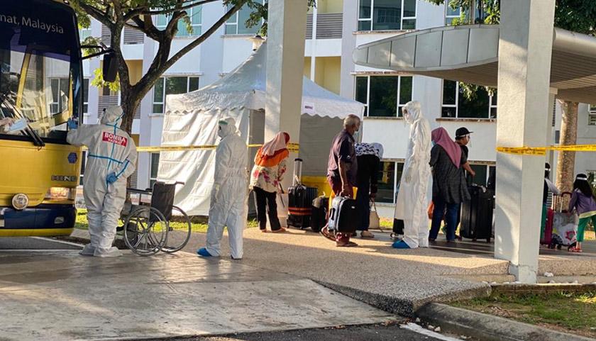 Rakyat Malaysia termasuk jemaah tabligh yang selamat tiba di tanah air dikuarantin 14 hari di ILKAP dan AKEPT.