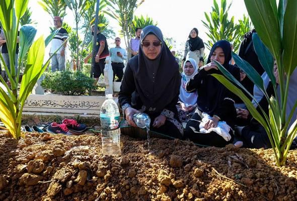 Jenazah ADUN Slim, Mohd Khusairi selamat dikebumi