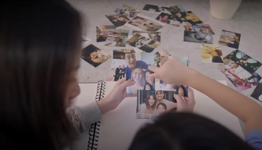 Antara momen di dalam muzik video 12 Tahun Terindah