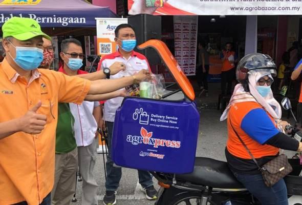 FAMA Sarawak perkenal perkhidmatan penghantaran AgroXpress