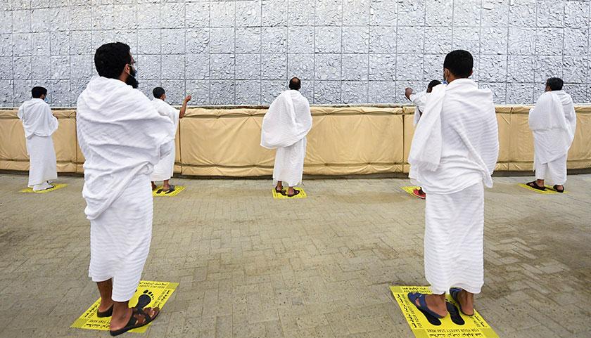 Kerajaan Arab Saudi melaksanakan kawalan ketat ibadah haji tahun ini dalam membendung penularan COVID-19 dalam kalangan jemaahnya. - Foto AP/Kerajaan Arab Saudi