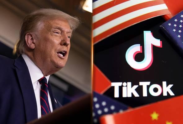 Trump tetapkan 15 September tarikh akhir penjualan atau penutupan TikTok
