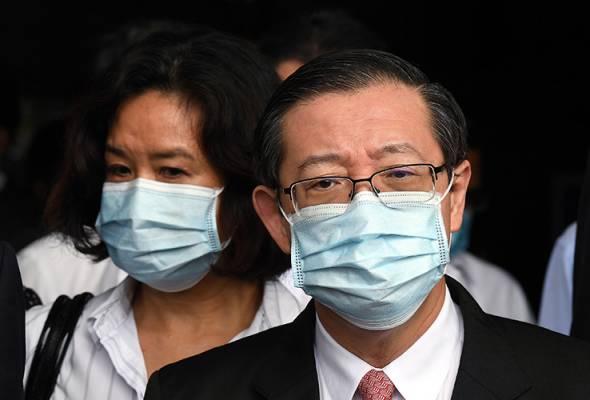 Lim Guan Eng, isteri didakwa hari ini