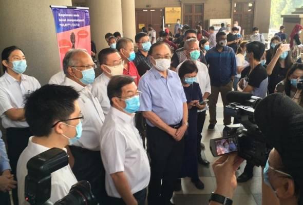 Kes Guan Eng: Pemimpin DAP hadir ke mahkamah beri sokongan