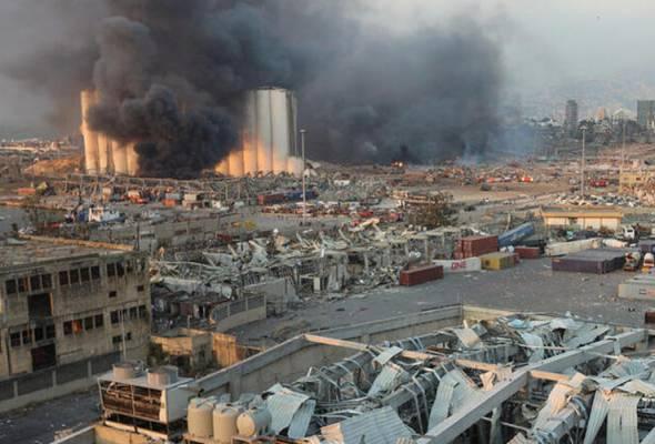Lima tragedi besar akibat letupan ammonium nitrate