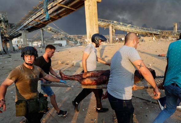 Letupan Beirut: Bantuan kemanusiaan mula disalur