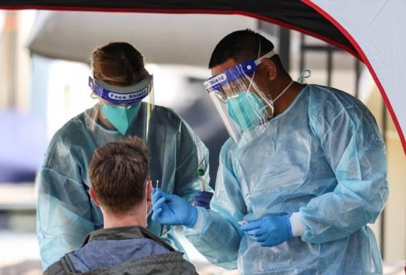 COVID-19: Australia catat 279 kes baharu, 16 kematian