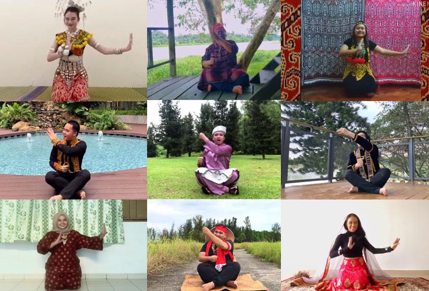 UiTM Chamber Choir yang hanya dianggotai oleh para pelajar Fakulti Muzik UiTM telah mempertaruhkan sebuah lagu tradisional dari Kelantan, bertajuk