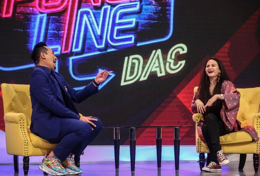 Sharifah Amani antara selebriti yang memeriahkan set Puncline DAC