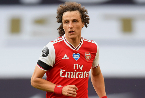 David Luiz bukan kelemahan Arsenal - Lampard