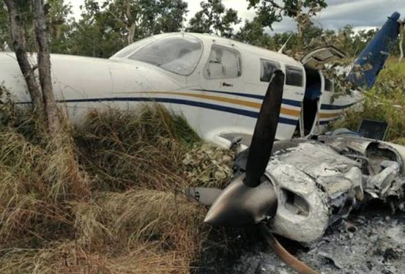 Cubaan seludup gagal, pesawat bawa 500kg dadah terhempas