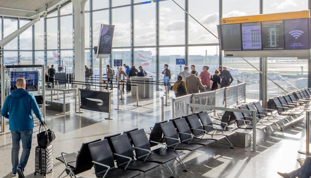 Pentadbiran Keselamatan Pengangkutan (TSA) lapangan terbang AS memaklumkan jumlah penumpang menurun 95 peratus pada bulan April berbanding tahun lalu Pentadbiran Keselamatan Pengangkutan (TSA) lapangan terbang AS memaklumkan jumlah penumpang menurun 95 peratus pada bulan April berbanding tahun lalu.