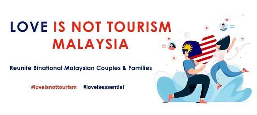 Pkp Benarkan Kami Jumpa Pasangan Di Luar Negara Wakil Love Is Not Tourism Astro Awani