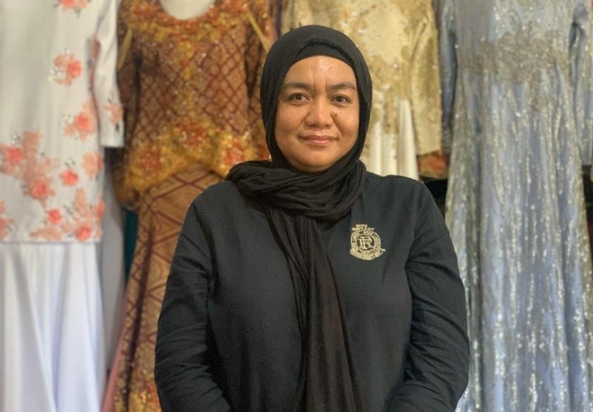 Pengusaha Chanteq Bridal Pelamin, Zuraidah Japar. - Astro AWANI