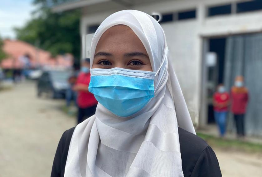 Saidatul Nazihah Rahman anggap PRN Sabah mencabar. - Astro AWANI