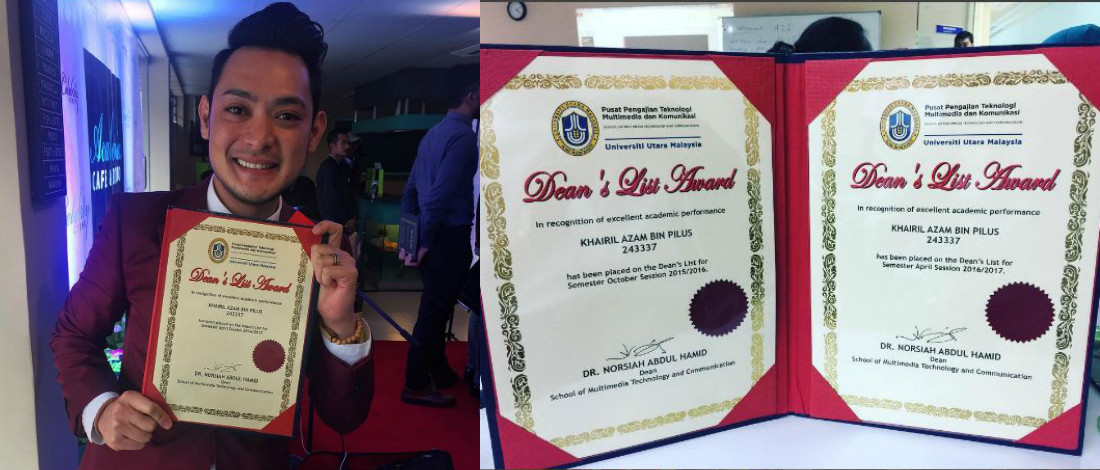 Dua kali terima Anugerah Dekan, Aril mahu sambung PhD