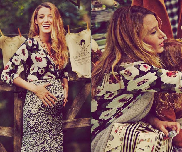 Blake Lively And Her Husband, Ryan Reynolds, Became First Time Parents When  Their Daughter, James (a Very Progressive Name For A Girl), Was Born In  December ...
