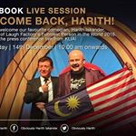 Catch us LIVE from KLIA on Wednesday (December 14th). Welcome back, Harith! #obviouslyharith