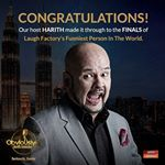 Harith is one step closer to become Laugh Factory's Funniest Person In The World. Watch this space as we will announce how you can support him for the finale. Malaysia Boleh!