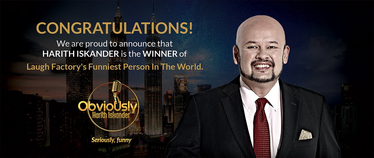 Congratulation Funniest Person In The World