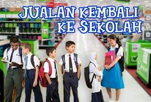 Jualan kembali ke sekolah