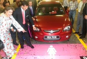 7% tempat letak kereta untuk pemandu wanita