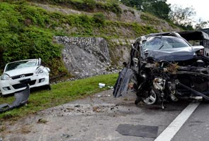 Fatal crash of minister's aide was at 'death stretch'