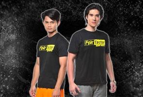 Hairul & Dazrin juara Fear Factor Selebriti Malaysia