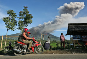 Volcanic ash from Indonesia's Mount Sinabung unlikely to affect Singapore