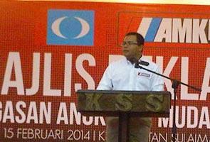 PKR Youth chief candidate Amirudin unveils manifesto
