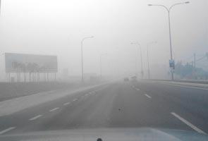 Haze at unhealthy level at Port Klang, Seri Manjung