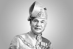 Sultan Perak Sultan Azlan Shah mangkat