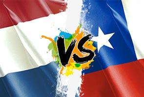 Pertemuan Belanda dan Chile tentukan siapa kuasai Kumpulan B
