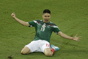 World Cup: Mexico down Cameroon as officials flop again