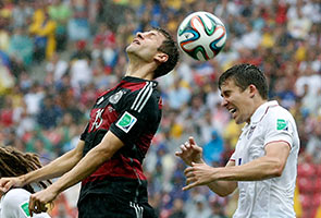 World Cup: Mueller scores giving Germany a 1-0 win over US