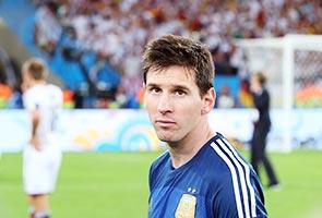 Messi already a great, says Sabella