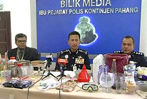 Keluarga proses dadah belajar dari Internet ditahan polis