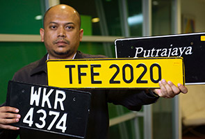 Bumi firm willing to help JPJ to help tackle issue of non-conforming number plates