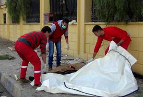 Syria air strikes on IS 'capital' kill 63 people