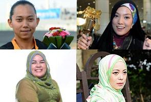 Shila Amzah, Fatehah Mustafa among Puteri UMNO Female Icon Award recipients