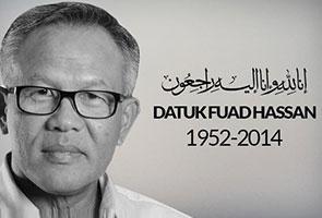 KP Jasa, Fuad Hassan meninggal dunia akibat serangan jantung