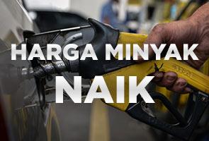 Harga petrol RON95, RON97, diesel naik 25 sen bermula malam ini