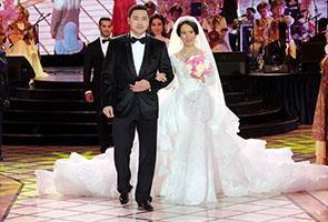 Foto perkahwinan anak perdana menteri 99
